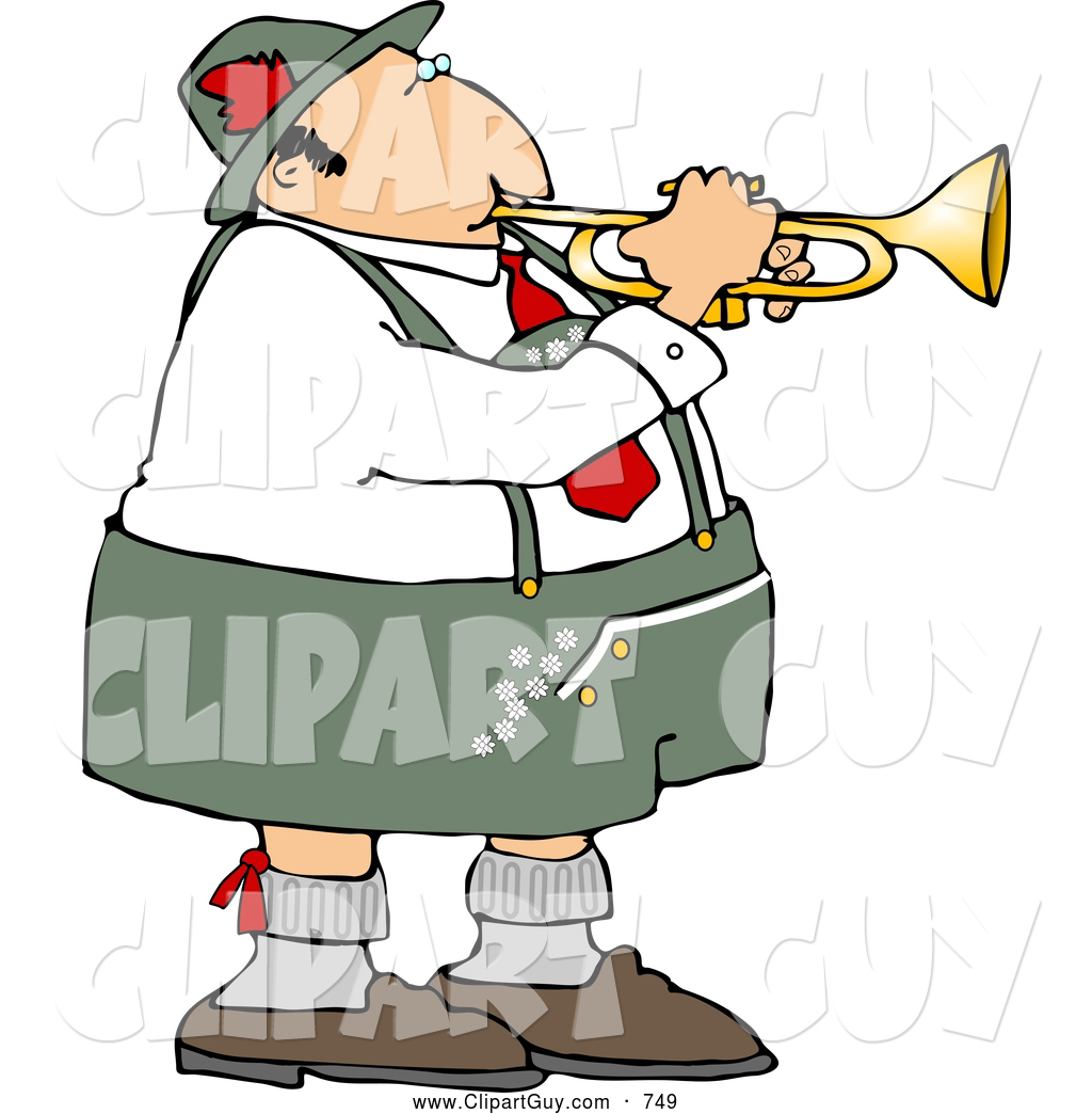 Royalty Free German People Stock Guy Clipart Illustrations