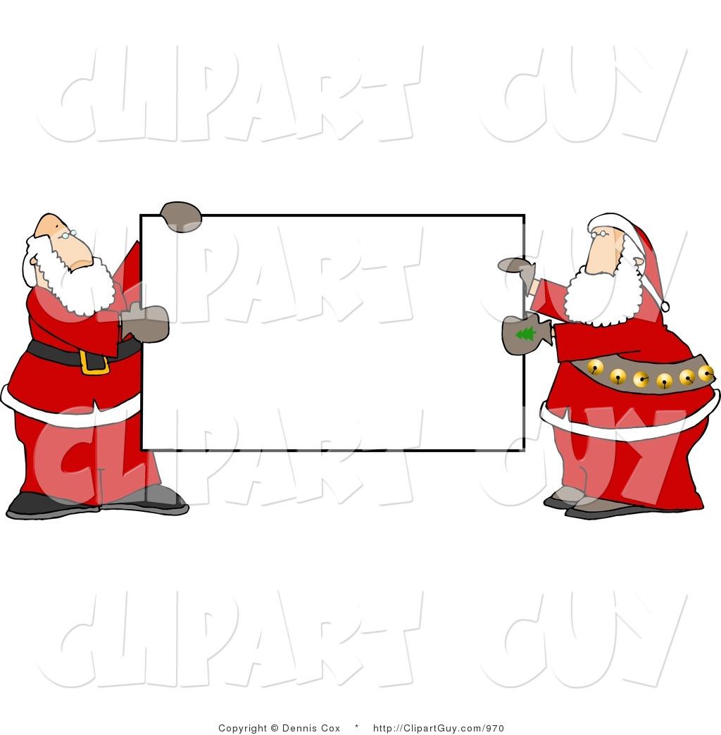 santa clip art signs - photo #14