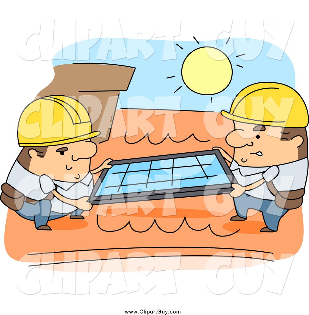 Cartoon Roofing Installation : Royalty free cartoon people stock guy designs